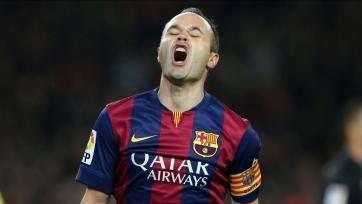Иньеста: «Неудача в матче с «Реалом» не скажется на нашем настрое»