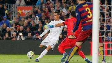 Роналду вышел на третье место по количеству голов в «Эль-Классико»