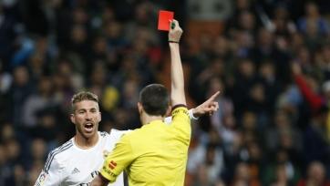 Руководство и тренерский штаб «Реала» рассержены поведением Рамоса