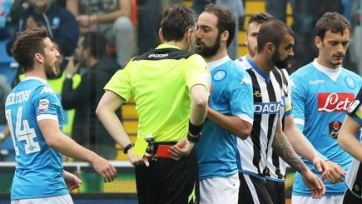 Гонсало Игуаин дисквалифицирован на четыре матча