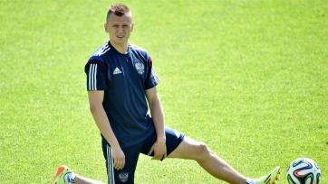 Денис Черышев приступил к работе на поле