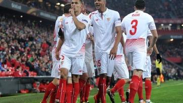 «Севилья» одержала волевую победу в Бильбао