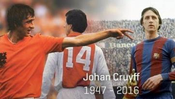 Легенды «Аякса» и «Реала» сыграют между собой в начале июня в память об Йохане Круиффе