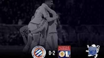 «Лион» уверенно выиграл в Монпелье