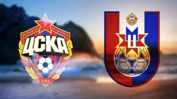 Стал известен стартовый состав ЦСКА на матч с «Мордовией»
