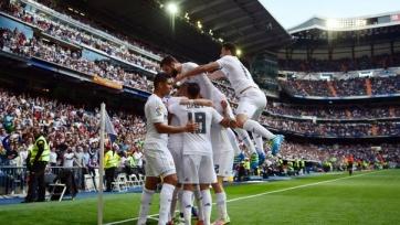 «Реал» разгромил дома «Эйбар»