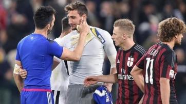 «Милан» - «Ювентус»: стартовые составы