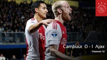 «Аякс» добился минимальной победы над «Камбюром»