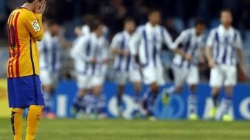 «Барселона» проиграла в Сан-Себастьяне