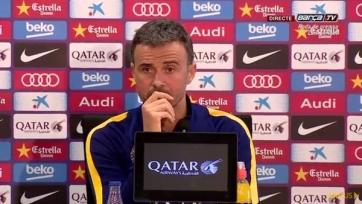 Луис Энрике: «Мы не заслуживали это поражение»