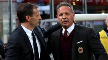 Массимилиано Аллегри: «Милан» играл достойно, мои комплименты Михайловичу»