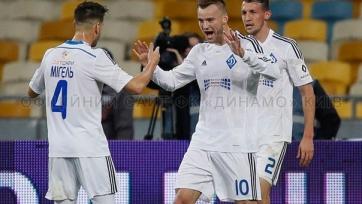 Дубль Ярмоленко принёс «Динамо» очередную победу