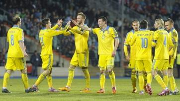 Сборная Украины сыграет с Румынией