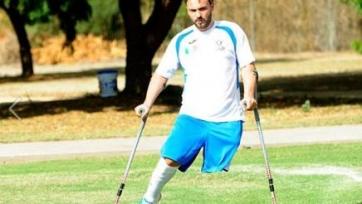 Бывший итальянский солдат продолжает играть в футбол, несмотря на ампутацию ноги