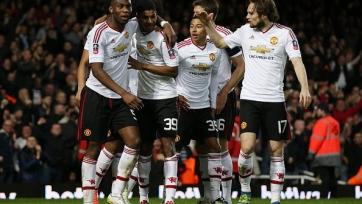 «Манчестер Юнайтед» пробился в полуфинал Кубка Англии