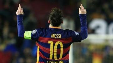 Лионель Месси не может забить в пяти матчах подряд