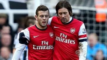 Джек Уилшир и Томаш Росицки сыграли за «молодёжку» «Арсенала»