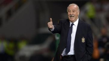 Дель Боске рад, что «Барселона» вылетела из Лиги чемпионов