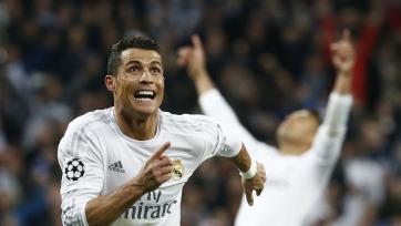 Роналду – лучший футболист ЛЧ на этой неделе