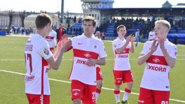 «Спартак» выиграл у «Зенита» в молодёжном первенстве России