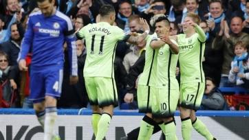 «Манчестер Сити» крупно переиграл в гостях «Челси»