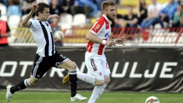 «Црвена Звезда» упустила победу в матче с «Партизаном»