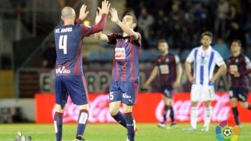 «Эйбар» одолел в баскском дерби «Реал Сосьедад»