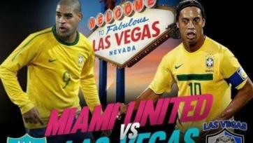 Роналдиньо сыграет против Адриано в Лас-Вегасе