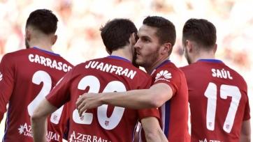 «Атлетико» обыграл «Гранаду» и догнал «Барселону»