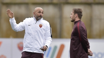 Франческо Тотти опроверг информацию о драке с Лучано Спаллетти