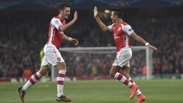 Озил и Санчес останутся в «Арсенале»