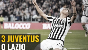 «Ювентус» уверенно обыграл «Лацио»