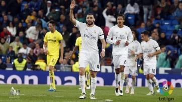 «Реал» разгромил «Вильярреал», Криштиану Роналду досрочно покинул поле