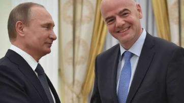 Джанни Инфантино: «ЧМ-2018 пройдёт в России, вне всяких сомнений»