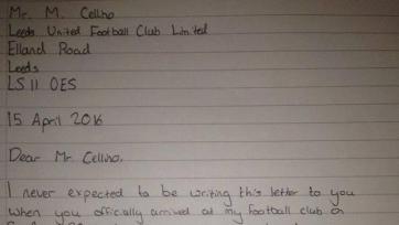 Пятнадцатилетний фанат «Лидса» написал письмо президенту клуба с требованием уйти