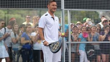Тотти сыграет с Федерером в теннис