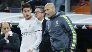 Зинедин Зидан: «Хамес Родригес остаётся важной частью «Реала»