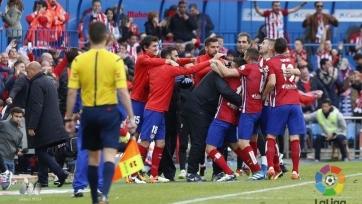 «Атлетико» переиграл дома «Малагу»