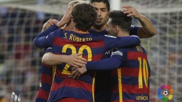 Очередной покер Суареса принёс «Барселоне» разгромную победу над «Спортингом»