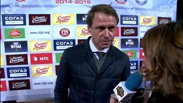 Олег Кононов: «Хорошо, что после первых двух голов команда не остановилась»