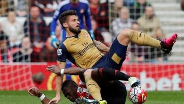 «Арсенал» не смог обыграть «Сандерленд» и практически лишился шансов на чемпионство