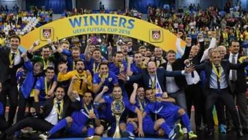 «Газпром-ЮГРА» выиграл Кубок УЕФА по футзалу
