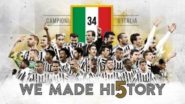«Наполи» проиграл в Риме, «Ювентус» досрочно стал чемпионом Италии