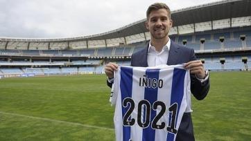 Иньиго Мартинес продлил контракт с «Реал Сосьедадом»