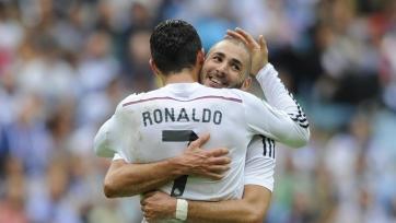Роналду и Бензема не сыграют против «Реал Сосьедада»
