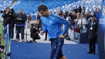 Роналду принял решение сыграть в ответной встрече с «Ман Сити»