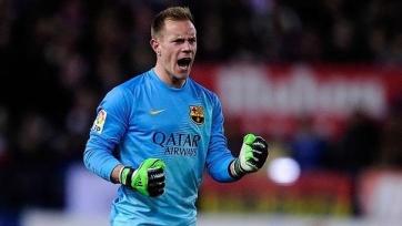 Тер Штеген может продлить контракт с «Барселоной»