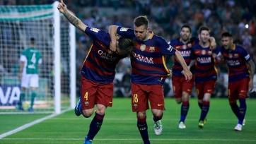 «Барселона» одолела в гостях «Бетис»