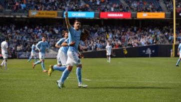 «Нью-Йорк Сити» одерживает победу над «Ванкувером», Вилья оформляет дубль