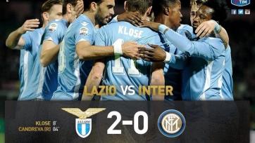 «Лацио» снова оказался сильнее «Интера»